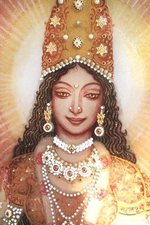 lakshmi-on-the-lotus--mosaic-2-top-middle