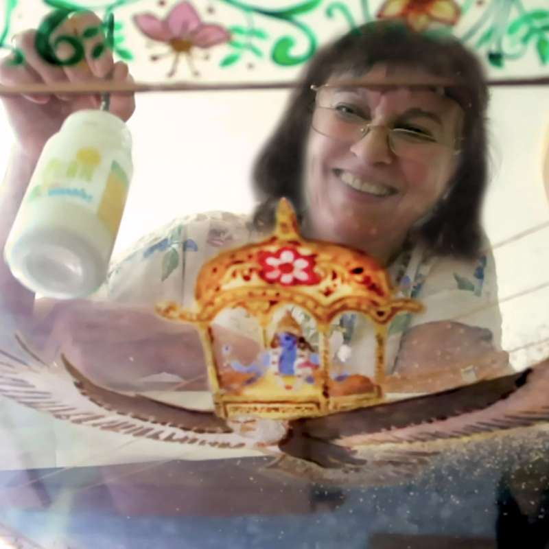 making-of-lakshmi-on-the-lotus-throne-13