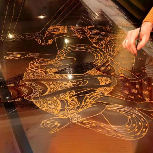 making-of-lakshmi-on-the-lotus-throne-15