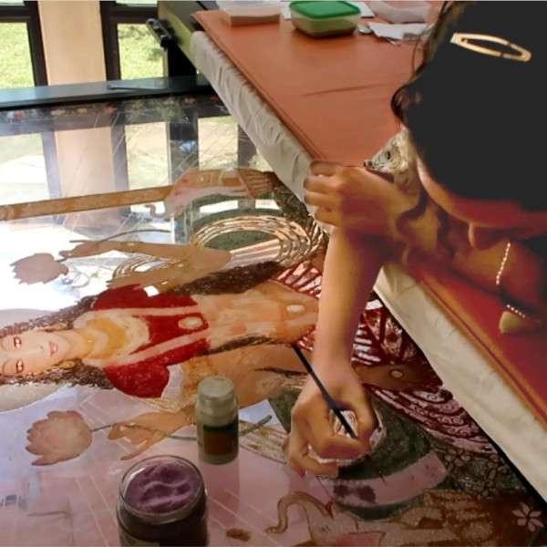 making-of-lakshmi-on-the-lotus-throne-16