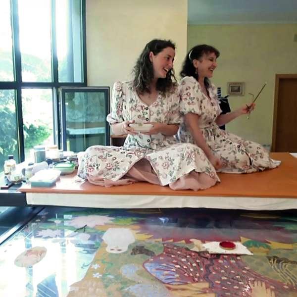making-of-lakshmi-on-the-lotus-throne-17