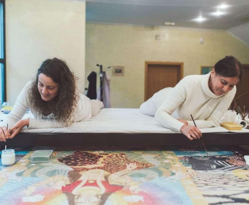 making-of-lakshmi-on-the-lotus-throne-5